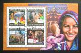 Poštovní známky Guinea 2011 Sloni Mi# 8314-17 Kat 12€