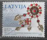 Poštovní známka Lotyšsko 2006 Šperky Mi# 672
