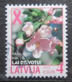 Poštovní známka Lotyšsko 2013 Květy jabloně Mi# 876