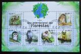 Poštovní známky Mosambik 2011 Sovy Mi# 4366-71 Kat 14€