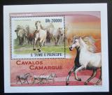 Poštovní známka Svatý Tomáš 2010 Koně Mi# 4363 Block