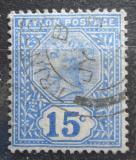 Poštovní známka Cejlon 1893 Královna Viktorie Mi# 122 b