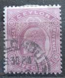Poštovní známka Cejlon 1903 Král Edward VII. Mi# 134