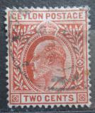 Poštovní známka Cejlon 1904 Král Edward VII. Mi# 143 a