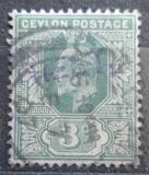 Poštovní známka Cejlon 1904 Král Edward VII. Mi# 144