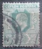 Poštovní známka Cejlon 1911 Král Edward VII. Mi# 145