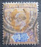 Poštovní známka Cejlon 1904 Král Edward VII. Mi# 146