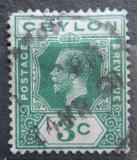 Poštovní známka Cejlon 1911 Král Jiří V. Mi# 167