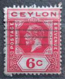 Poštovní známka Cejlon 1911 Král Jiří V. Mi# 169