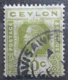 Poštovní známka Cejlon 1911 Král Jiří V. Mi# 170