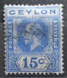 Poštovní známka Cejlon 1911 Král Jiří V. Mi# 171
