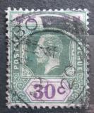 Poštovní známka Cejlon 1911 Král Jiří V. Mi# 173 Kat 5€