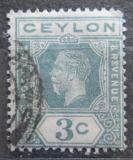 Poštovní známka Cejlon 1923 Král Jiří V. Mi# 188