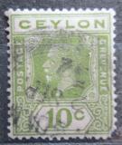 Poštovní známka Cejlon 1921 Král Jiří V. Mi# 193
