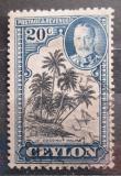 Poštovní známka Cejlon 1936 Kokosové palmy Mi# 222