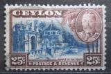Poštovní známka Cejlon 1935 Chrám v Kandy Mi# 223
