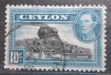 Poštovní známka Cejlon 1938 Lví skála Mi# 234