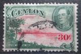 Poštovní známka Cejlon 1938 Stará vodní nádrž Mi# 238