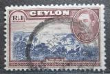 Poštovní známka Cejlon 1938 Trinkomali Mi# 240