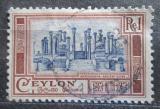 Poštovní známka Cejlon 1950 Ruiny Vatadage Mi# 264