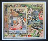 Poštovní známka Manáma 1971 Umění, Hieronymus Bosch Mi# Block 155 A