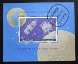 Poštovní známka Manáma 1970 Vesmírná spolupráce Mi# Block 53 A