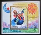 Poštovní známka Adžmán 1971 Dobrodružství barona Münchhausena Mi# Block 302 A