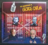 Poštovní známky Burundi 2012 George Carlin, americký herec Mi# 3655-58 Kat 10€