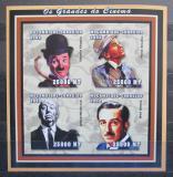 Poštovní známky Mosambik 2002 Slavní herci neperf. Mi# 2520-23 B
