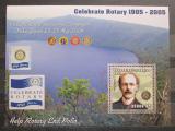 Poštovní známka Mosambik 2002 Rotary Intl., Paul Harris Mi# 2528 Block