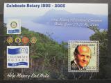 Poštovní známka Mosambik 2002 Rotary Intl., Paul Harris Mi# 2529 Block