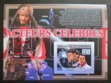 Poštovní známka Komory 2009 Slavní herci neperf. Mi# Block 500 B