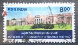 Poštovní známka Indie 1997 Technická univerzita Roorkee, 150. výročí Mi# 1531
