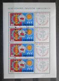 Poštovní známky Polsko 1967 Odborářský kongres Mi# 1769 Bogen