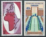 Poštovní známky Kamerun 1965 EUROPAFRIQUE Mi# 435-36