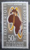 Poštovní známka Kongo 1963 EUROPAFRIQUE Mi# 37