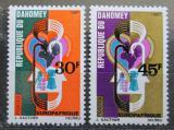Poštovní známky Dahomey 1967 EUROPAFRIQUE Mi# 319-20