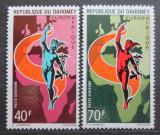 Poštovní známky Dahomey 1970 EUROPAFRIQUE Mi# 427-28