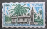 Poštovní známka Gabon 1967 Protestantský kostel Mi# 287