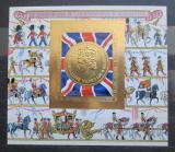 Poštovní známka Komory 1978 Vláda Alžběty II., 25. výročí Mi# Block 147 B Kat 25€