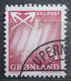 Poštovní známka Grónsko 1963 Polární záře Mi# 48