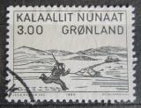 Poštovní známka Grónsko 1980 Dřevořezba, Aron von Kangeq Mi# 124