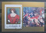 Poštovní známka Komory 1978 Umění, Peter Paul Rubens Mi# 463 Block