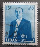 Poštovní známka Libanon 1960 Prezident Fuad Chehab Mi# 681