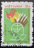 Poštovní známka Vietnam 1984 Mezinárodní setkání míru Mi# 1399