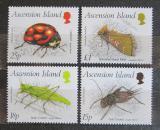 Poštovní známky Ascension 1988 Hmyz Mi# 453-56 Kat 14€