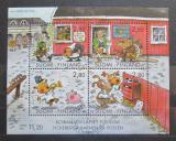 Poštovní známky Finsko 1994 Komiks Mi# Block 14
