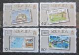 Poštovní známky Bermudy 1986 Výstava AMERIPEX Mi# 493-96 Kat 13€