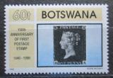 Poštovní známka Botswana 1990 Penny Black, 150. výročí Mi# 470
