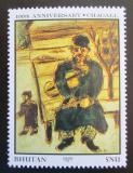 Poštovní známka Bhútán 1987 Umění, Marc Chagall Mi# 1043